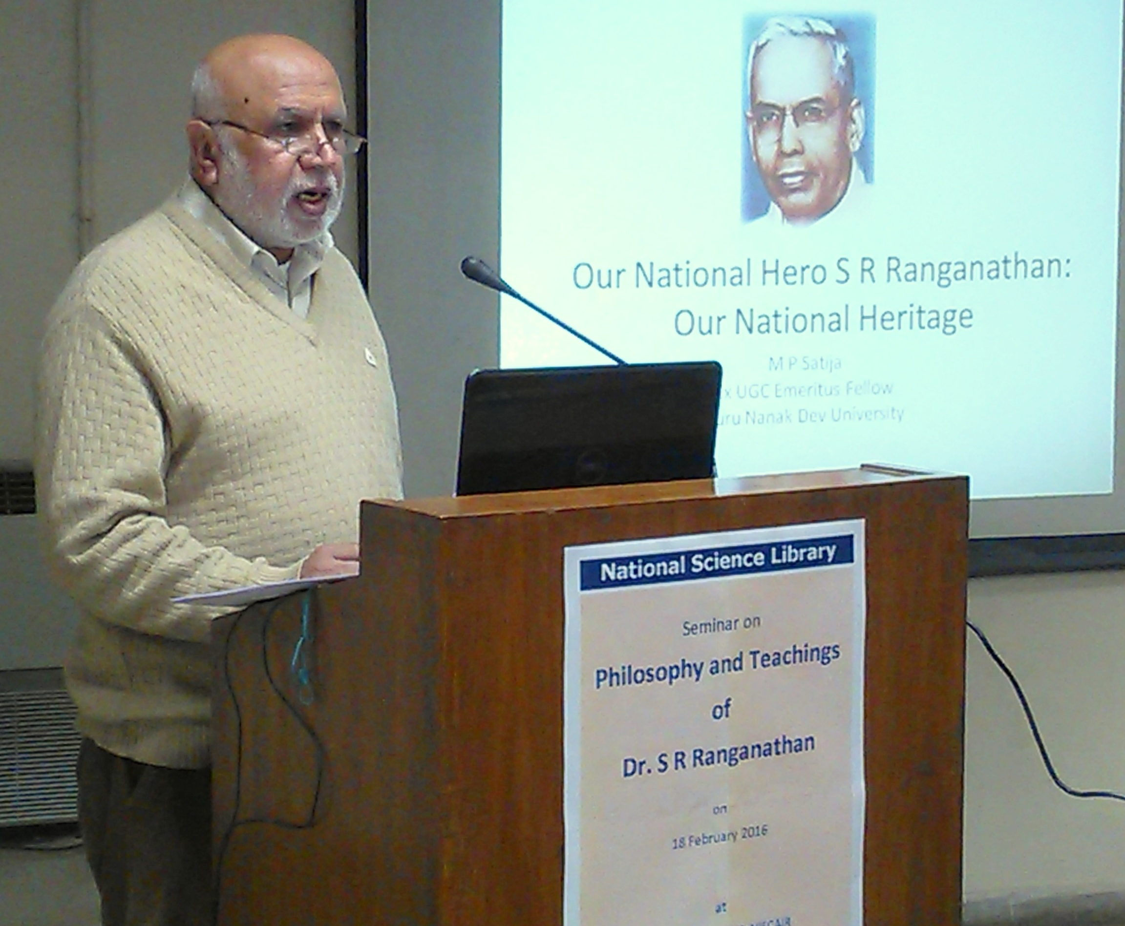 Seminar on Ranganathan
